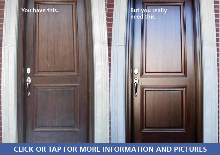 Expert Quality Front Door Refinishing In Chicago Ravenswood